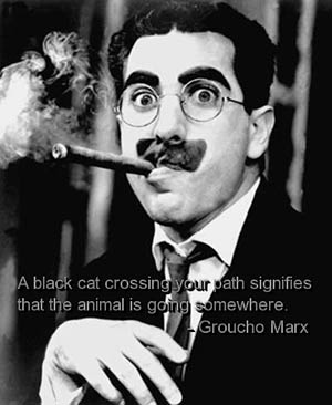 groucho-marx-quotes-sayings-humorous-black-cat-funny