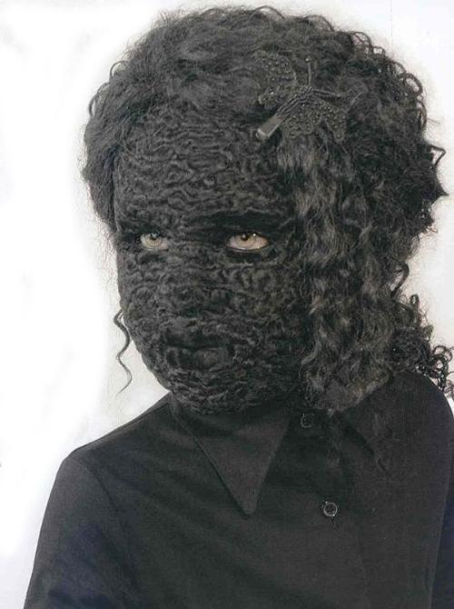 masque tricot